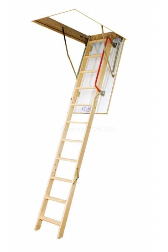 Půdní schody FAKRO LWK-280 Komfort: čtyřdílné