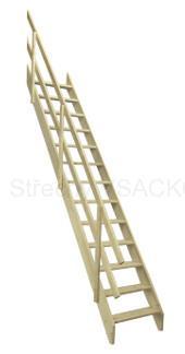 Mlynařské schody Fakro MSU Universal