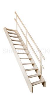 Mlynařské schody Fakro MSS Superior